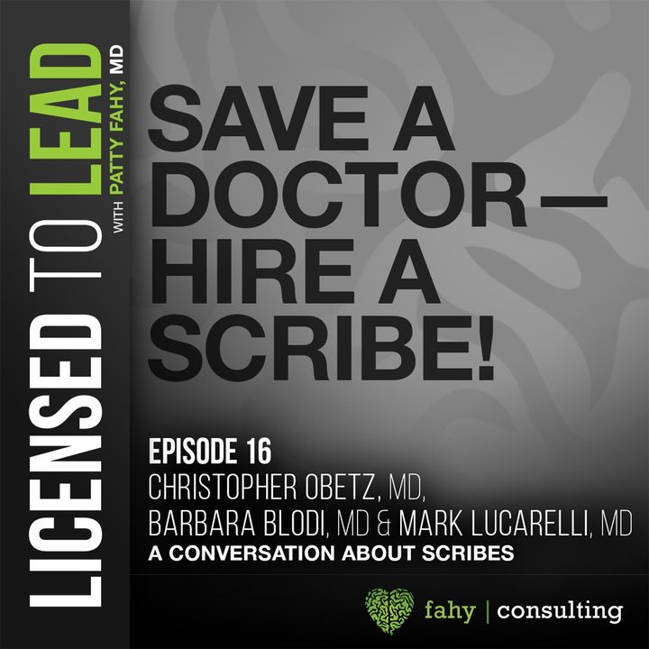 016 - Save a Doctor – Hire a Scribe