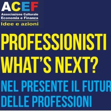 Professionisti What's next?