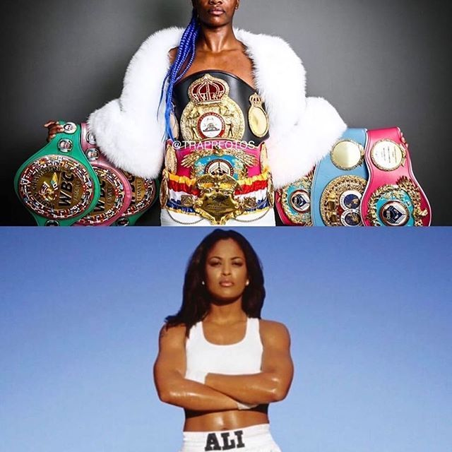 @TheRealLailaAli VS @Claressashields : CLARESSA SHIELDS NEEDS TO STAY IN HER LANE!
