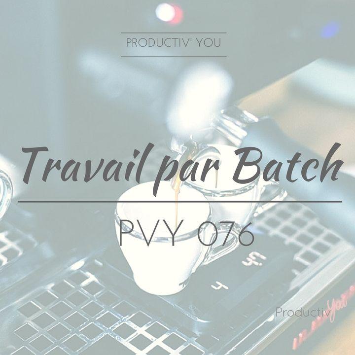 PVY076 Travailler par BATCH