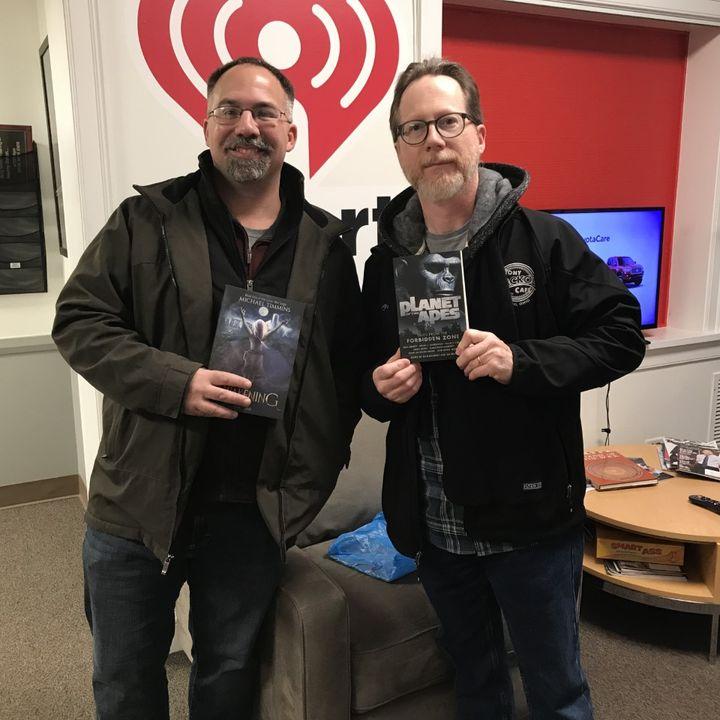 Michael Timmins and Jim Beard The Writer's Block Author Fair 2019