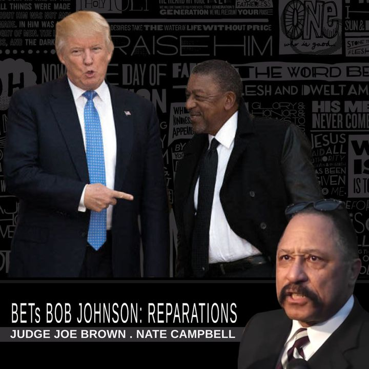 TEMPERS FLARE: REPARATIONS : BOB JOHNSON, OPRAH WINFREY AND JESUS ...