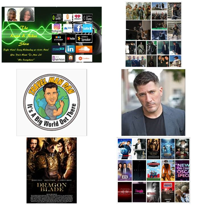 The Kevin & Nikee Show  - Danny Salay - Actor, Stunt Man, Martial Artist, Sketch Comedy Group Member and World Traveler