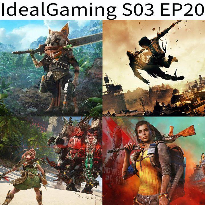IdealGaming S03 EP20 - Biomutant, Dying Light 2, Horizon Forbidden West e Far Cry 6