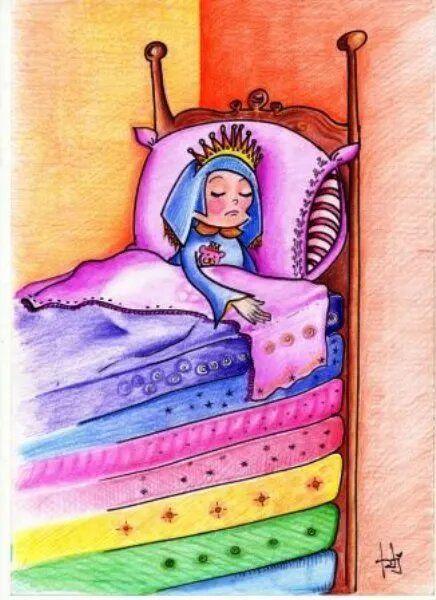 La Princesa y el Guisante - Cuento Infantil