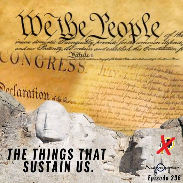 """Episode 236 """"THE THINGS THAT SUSTAIN US."""""""