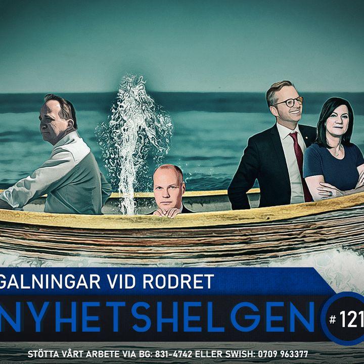 Nyhetshelgen 121 – Galningar vid rodret, OS-nerver, rädda Sverige