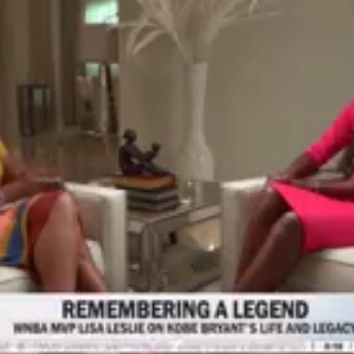 Gayle King &Lisa Leslie Interview &Snoop Dogs Reaction