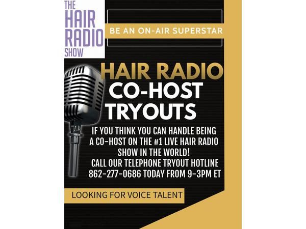 The Hair Radio Morning Show LIVE #539  Wednesday, March 17th, 2021