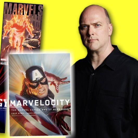 #251: Superstar Artist Alex Ross on Marvel and DC Superheroes