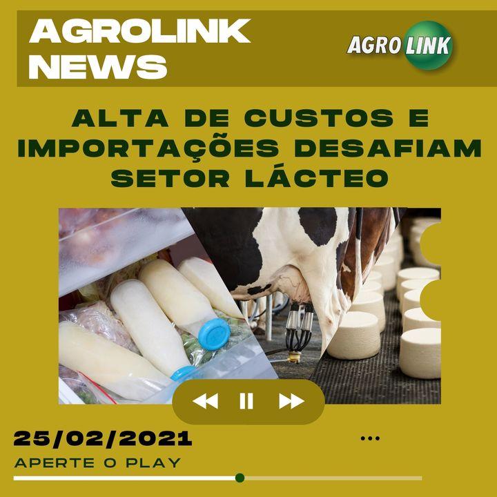 Agrolink News - Destaques do dia 25 de fevereiro
