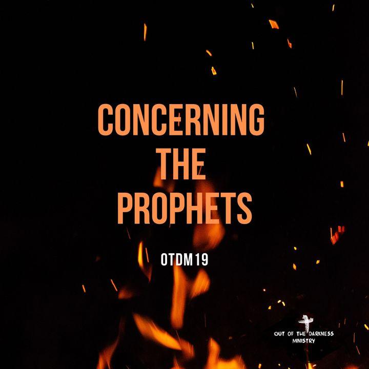OTDM19 Concerning the Prophets