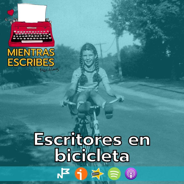 Escritores en bicicleta