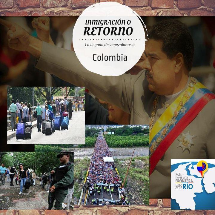 Inmigración y retorno de Venezuela