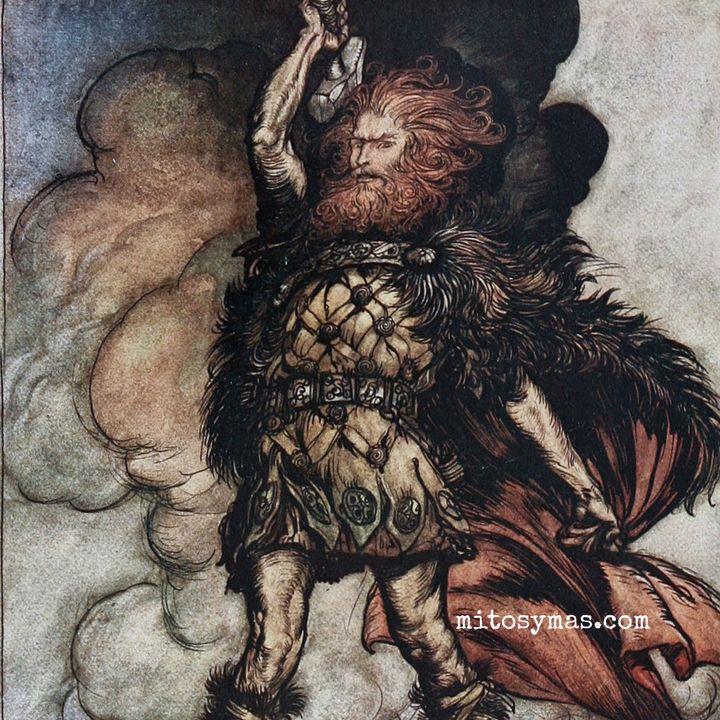 De cómo Thor consiguió su martillo. Mitología Nórdica Pt.6.