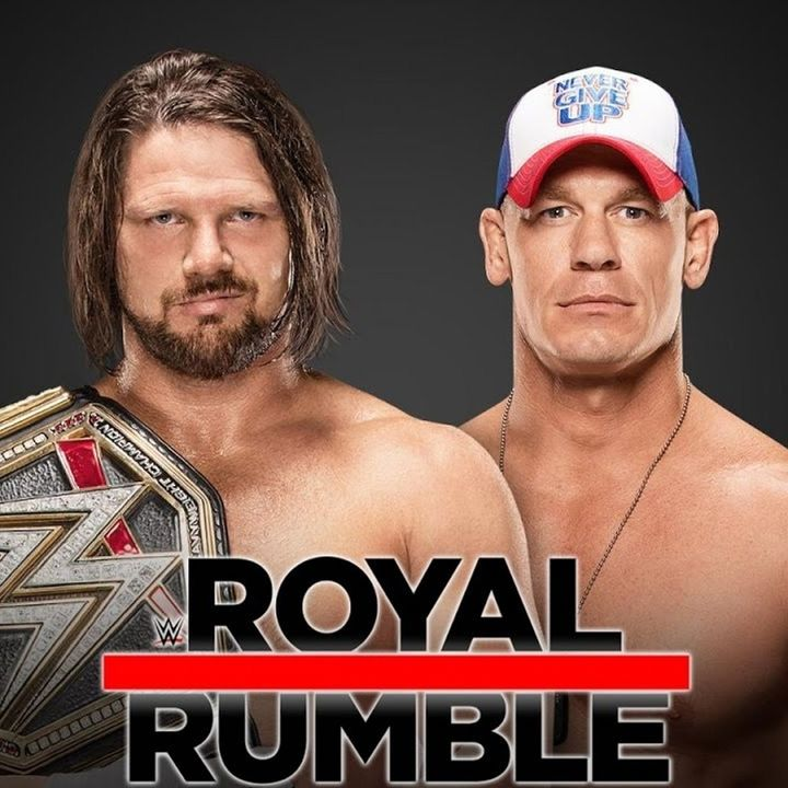 WWE Rivalries: AJ Styles vs John Cena