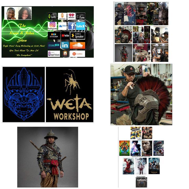 The Kevin & Nikee Show  - Sanit Klamchanuan - Freelance Illustrator, Printmaker, Artist, Prop Maker, SFX and Armour Maker