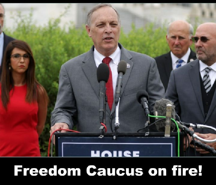 Freedom caucus on fire, the speech they gave that even Conservative radio hid from you!