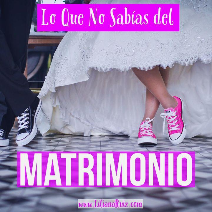 LO QUE NO SABÍAS  DEL MATRIMONIO