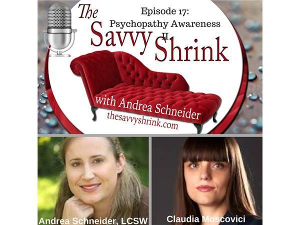 Psychopathy Awareness II with Claudia Moscovici