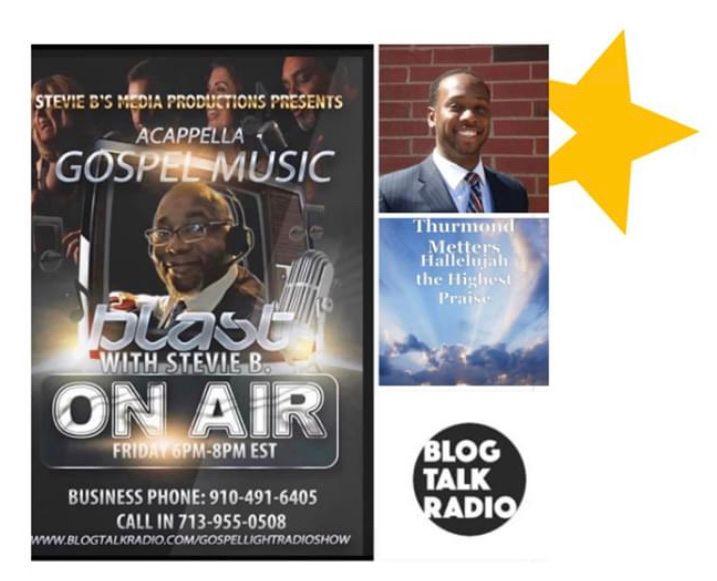 Stevie B's Acappella Gospel Music Blast - (Episode 159)