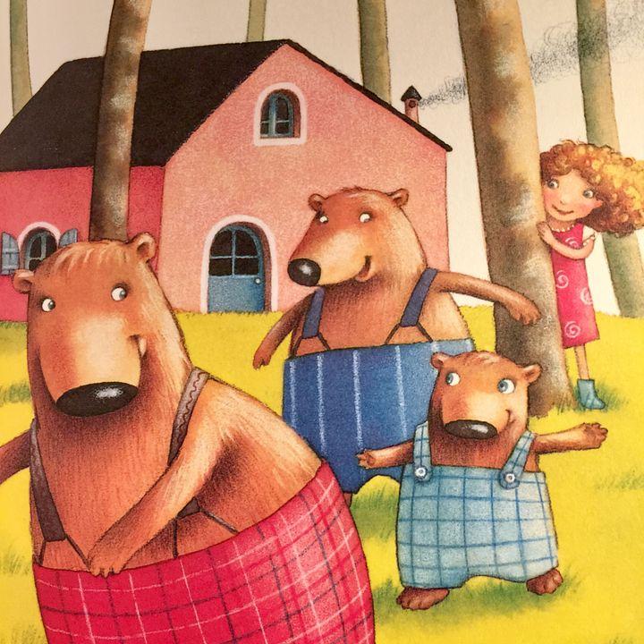 Riccioli d'oro e i tre orsi (2+ anni) - Roberto Piumini