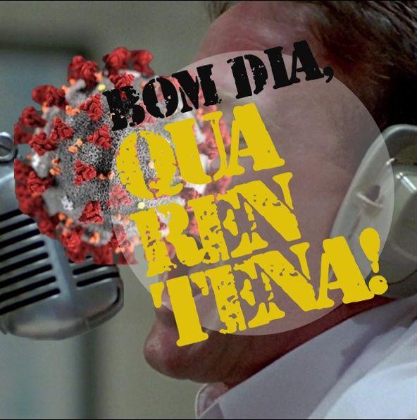 #16 - Bom dia, Quarentena! Platão - Demissão de Mandetta!?