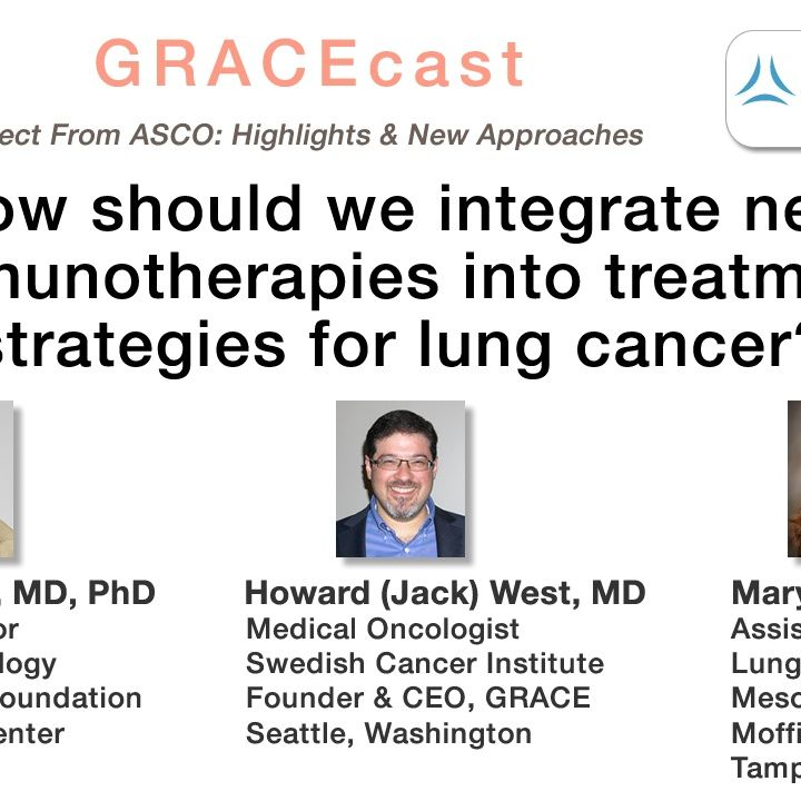 How should we integrate new immunotherapies into treatment strategies for lung cancer?