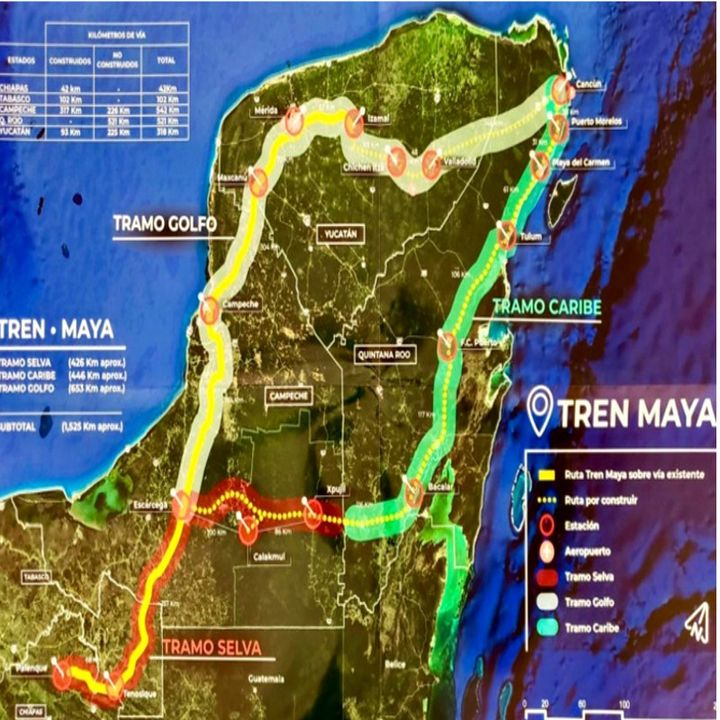 Proyecto del Tren Maya enfrenta un amparo para su construcción