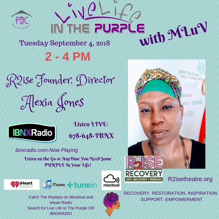 MLuv interviews Alexia Jones  -  Founder & Director R2ISE