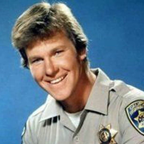 Larry Wilcox from the TV series CHIPS talks with Torchy Smith
