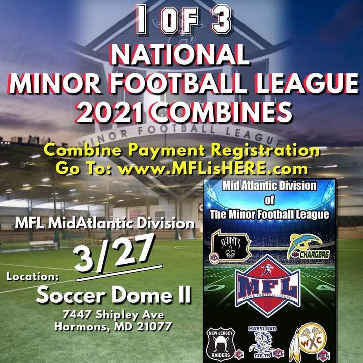 2021 Minor Football League Mid-Atlantic Division Combine March 27