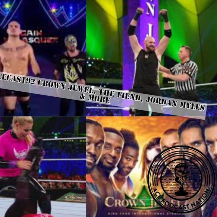 Crown Jewel Review | The Fiend | Jordan Myles | Wrestling News #15