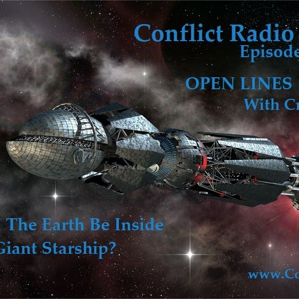 Episode 122  Could Earth Be Inside One Giant Spaceship Creepy Little Book  OPEN LINES