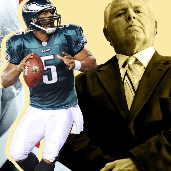 Redspin Report: How Pioneering Bigot Rush Limbaugh Got Fired From ESPN & Pro Bowl WR Vincent Jackson's Death at Age 38