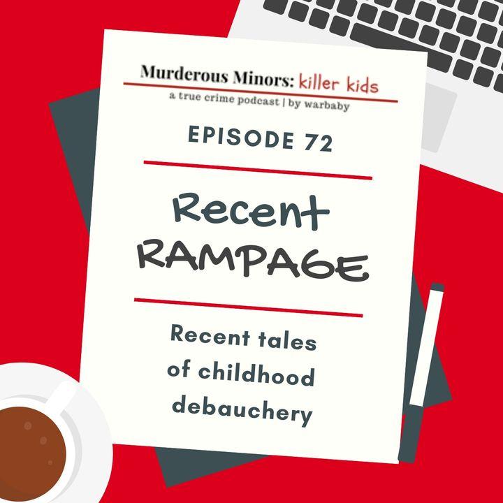 Recent Rampage (Latavious Betts; Aaron Trejo; Brigid Curtin; Devin Hodges; Amariyona Hall; John VanMeter)