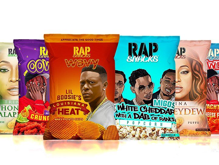 Walmart Master P and Rap Snacks