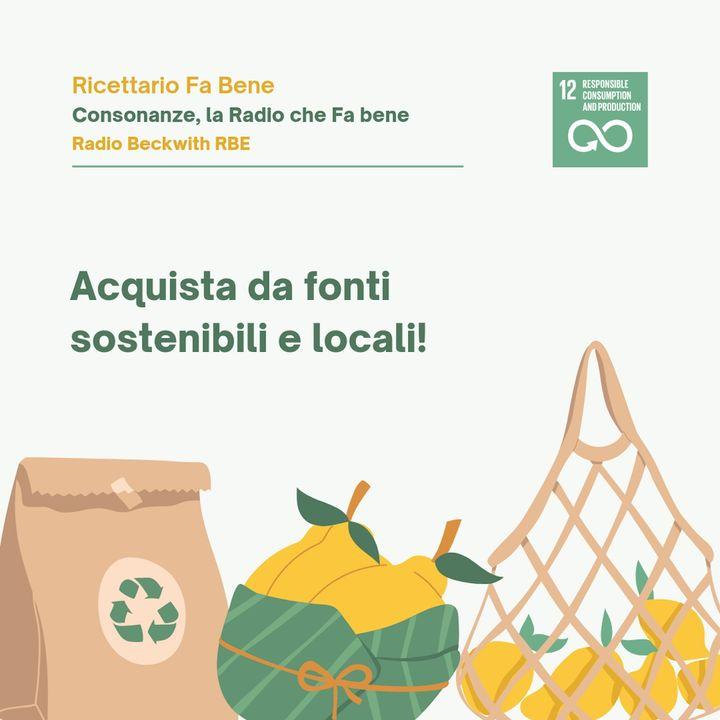 Ricettario Fa Bene - Giornata Mondiale Biodiversità 22 maggio