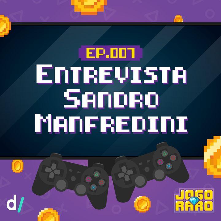 Ep. 07 - Entrevista: Sandro Manfredini | Estúdio Aquiris (Horizon Chase Turbo)