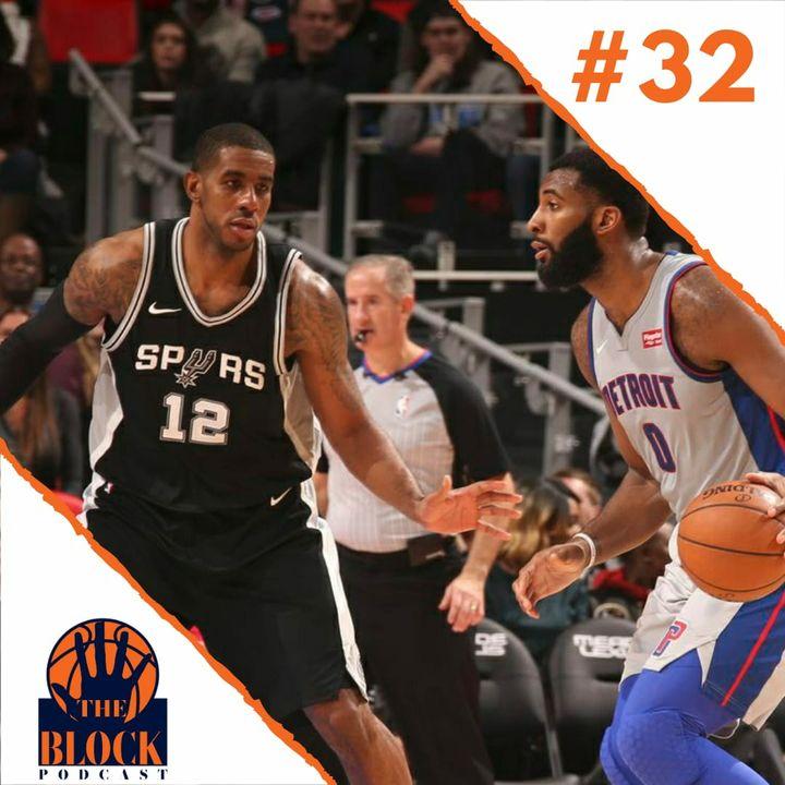#32 - Aldridge no Nets, Drummond no Lakers e vestibular em LA.