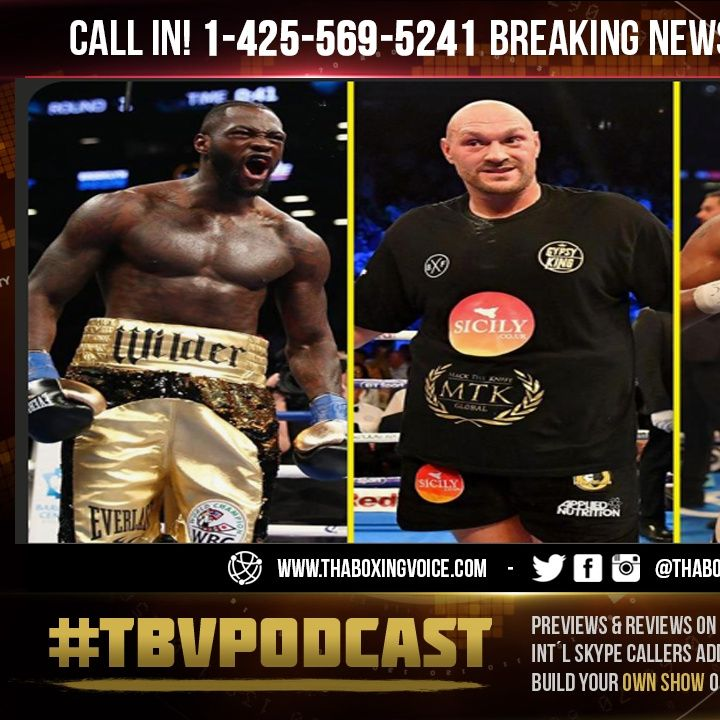 ☎️Deontay Wilder Will Be🤑PAID OFF😱Tyson Fury vs Anthony Joshua Really HAPPENING👀🧐