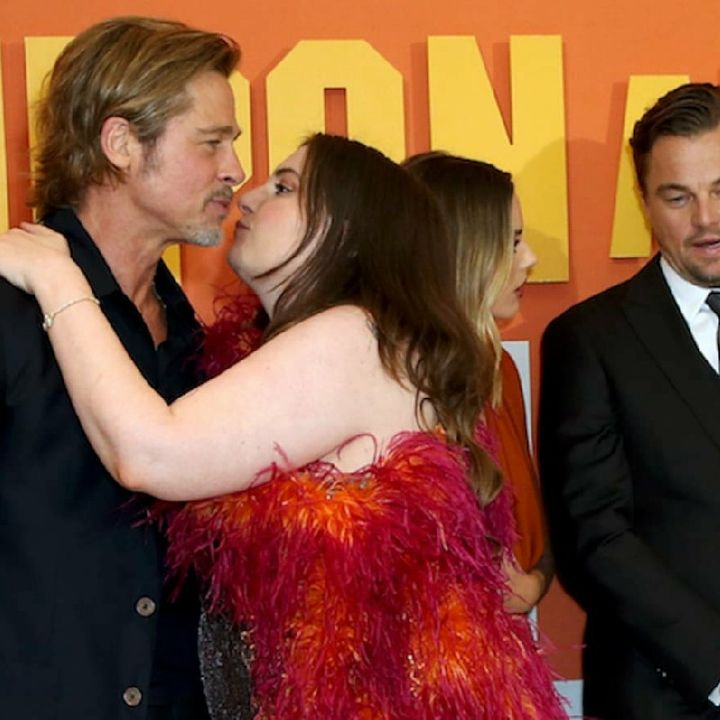 Lena Dunham Gets Called Out On Twitter For Sexually Harassing Actor Brad Pitt On The Red Carpet.