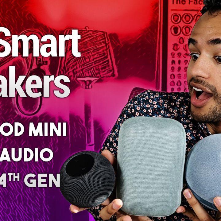 Hands-On Tech: HomePod mini vs. 4th-Gen Echo vs. Nest Audio