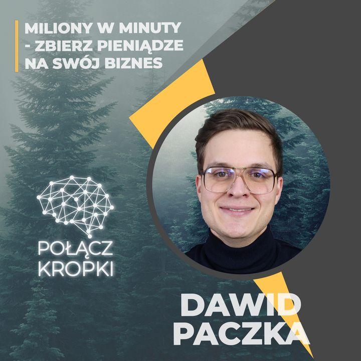 Dawid Paczka w #PołączKropki-crowdfunding udziałowy-Emiteo