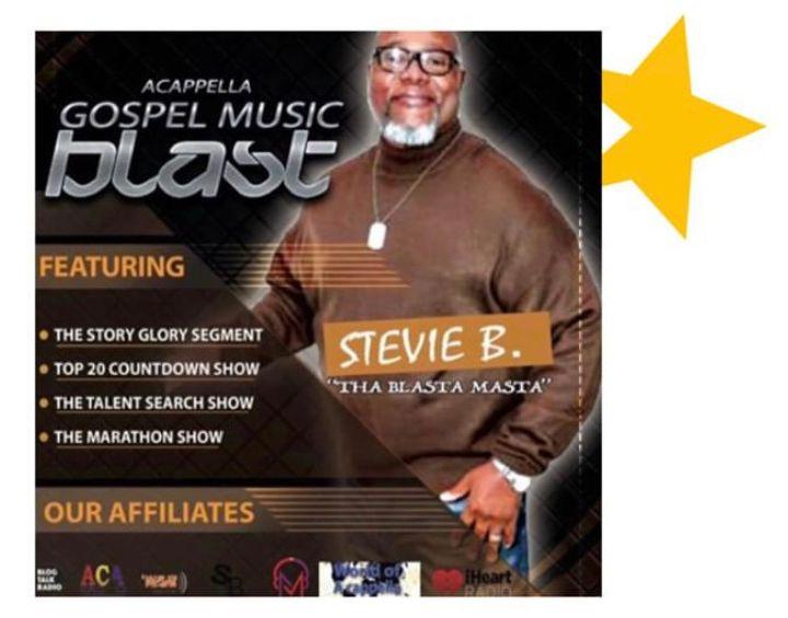 Stevie B's Acappella Gospel Music Blast - (Episode 162)