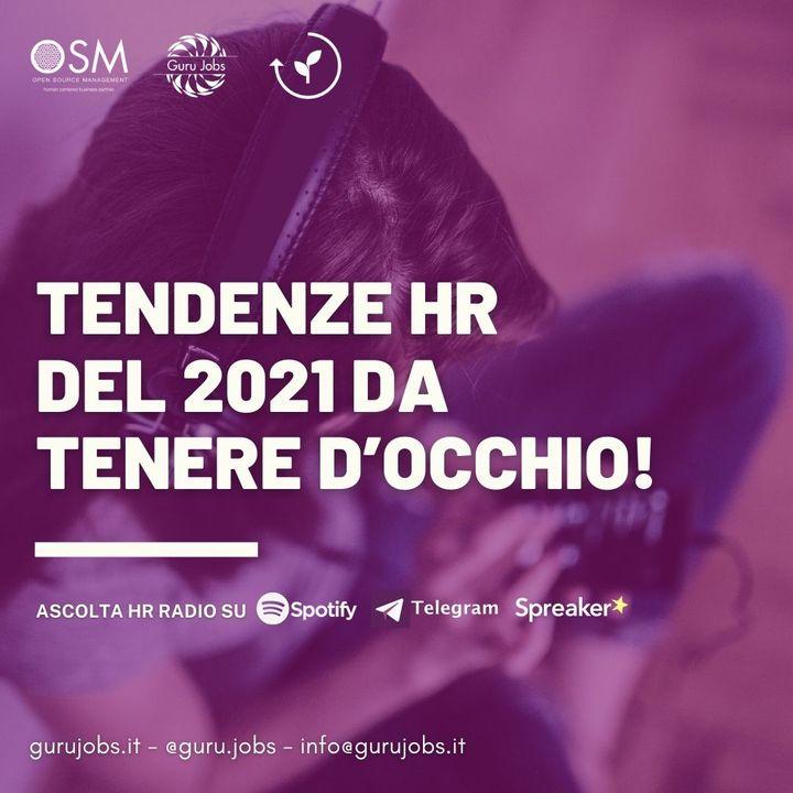 #4 Tendenze HR del 2021 da tenere d'occhio