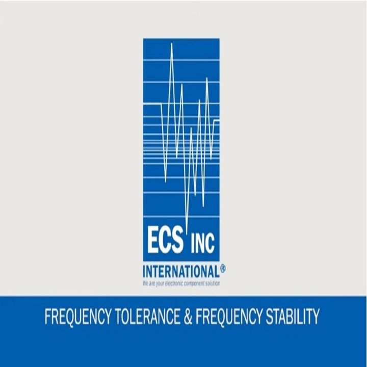 ECS Inc Frequency Stability and Tolerance