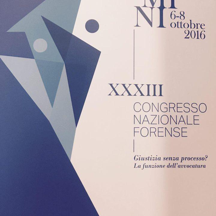 XXXIII Congresso Nazionale Forense
