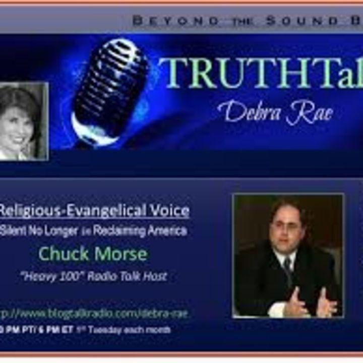 Debra Rae, host of Truth Talk interviews Chuck Morse