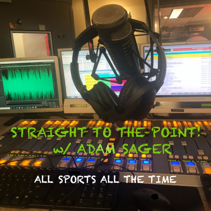 Straight To The Point w/ Adam Sager Ep 3 White Sox Edition: Len Kasper to White Sox Radio & Hot Stove